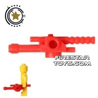Product shot BrickForge - Particle Gun - Red