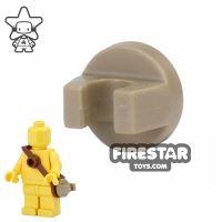 Product shot BrickForge - Round Clip - Dark Tan - RIGGED System