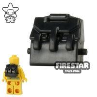 Product shot BrickForge - Rucksack - Black - RIGGED System