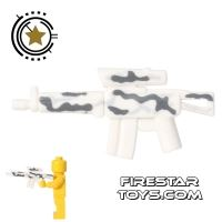 Product shot BrickForge - Tactical Assault Rifle - White Camo