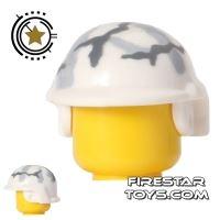 Product shot BrickForge - Tactical Helmet - White Camo