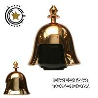 Product shot BrickTW - Kin Dynasty Helmet - Gold Plated