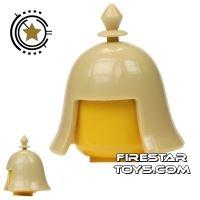 Product shot BrickTW - Kin Dynasty Helmet - Tan