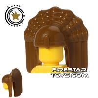 Product shot BrickTW - Nanman Priest Headdress - Dark Tan