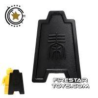 Product shot BrickTW - Qin Long Shield - Black