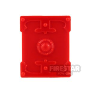 Product shot BrickTW - Rectangle Shield - Red