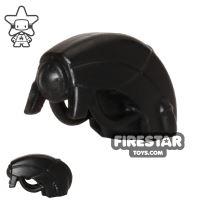 Product shot BrickWarriors - Android Head - Black
