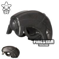 Product shot BrickWarriors - Android Head - Steel