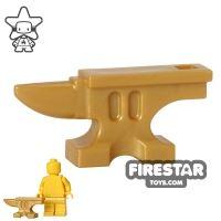 Product shot BrickWarriors - Anvil - Pearl Gold