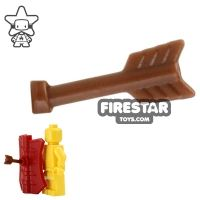 Product shot BrickWarriors - Arrow Half - Brown