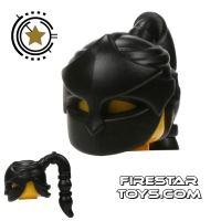 Product shot BrickWarriors - Assassin Mask - Black