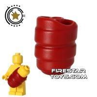 Product shot BrickWarriors - Baby Wrap - Dark Red