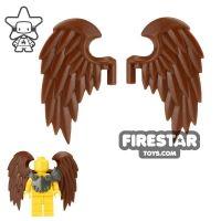 Product shot BrickWarriors - Bird Wings - Brown