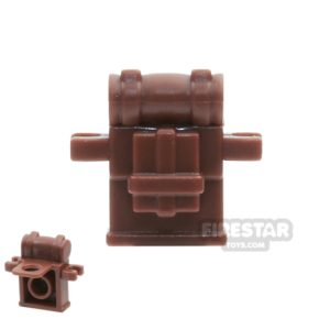 Product shot BrickWarriors - British Knapsack - Brown