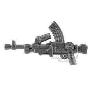 Product shot BrickWarriors - British LMG - Steel