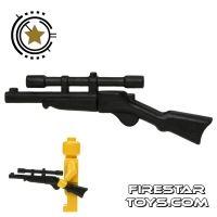 Product shot BrickWarriors - Buffalo Rifle - Black