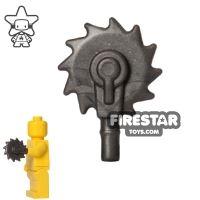 Product shot BrickWarriors - Buzzsaw Hand - Steel