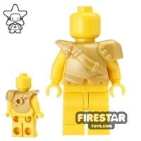 Product shot BrickWarriors - City Watch Armour - Pearl Gold