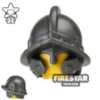 Product shot BrickWarriors - City Watch Helmet - Steel