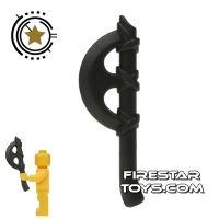 Product shot BrickWarriors - Crescent Axe - Charcoal