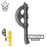 Product shot BrickWarriors - Crescent Axe - Steel