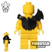 Product shot BrickWarriors - Demon Armour - Black