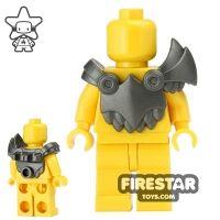 Product shot BrickWarriors - Demon Armour - Steel