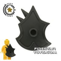 Product shot BrickWarriors - Demon Shield - Black