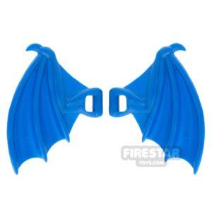 Product shot BrickWarriors - Dragon Wings - Blue