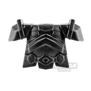 Product shot BrickWarriors - Dwarf Armour - Black