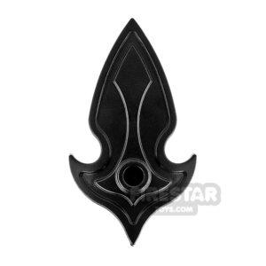 Product shot BrickWarriors - Elf Shield - Black