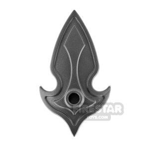 Product shot BrickWarriors - Elf Shield - Steel