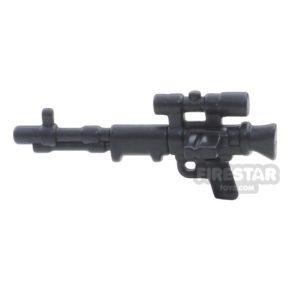 Product shot BrickWarriors - FallschirmJager Rifle - Black