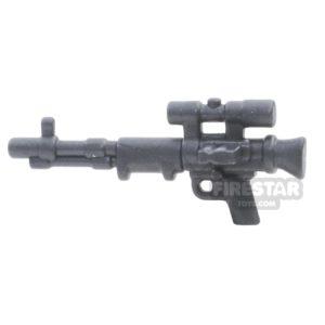 Product shot BrickWarriors - FallschirmJager Rifle - Steel