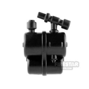Product shot BrickWarriors - Flammenwerfer Tank - Black