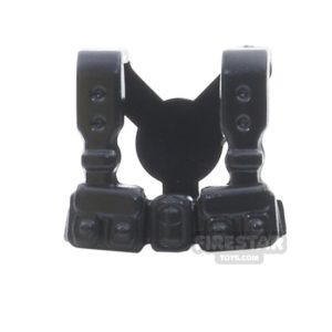 Product shot BrickWarriors - French Suspenders - Black