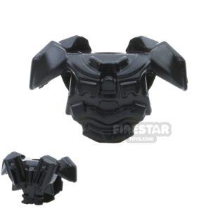 Product shot BrickWarriors - Galaxy Enforcer Armour - Black
