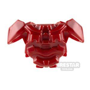 Product shot BrickWarriors - Galaxy Enforcer Armour - Dark Red