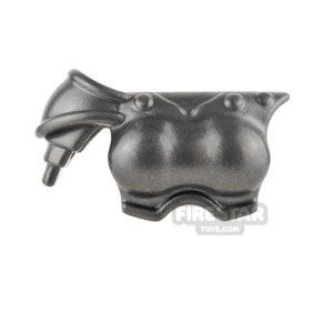 Product shot BrickWarriors - Gladiatrix Armour - Steel