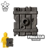 Product shot BrickWarriors - Goblin Shield - Steel