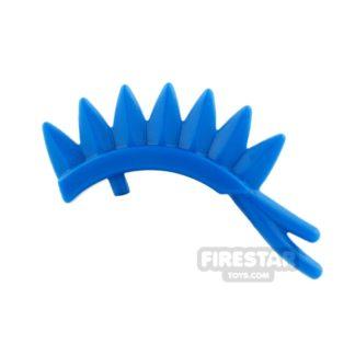 Product shot BrickWarriors - Jousting Plume - Blue