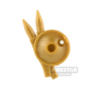 Product shot BrickWarriors - Lantern Shield - Pearl Gold