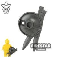 Product shot BrickWarriors - Lantern Shield - Steel