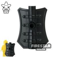 Product shot BrickWarriors - Pavise Shield - Black