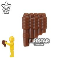 Product shot BrickWarriors - Reed Pipes - Brown