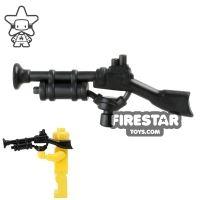 Product shot BrickWarriors - Steampunk Rifle - Black