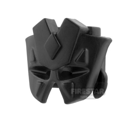 Product shot BrickWarriors - Tribal Mask - Black
