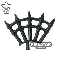 Product shot BrickWarriors - Wooden Spikes - Black