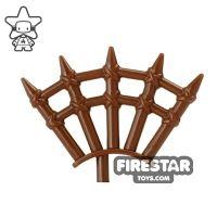 Product shot BrickWarriors - Wooden Spikes - Brown
