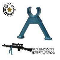 Product shot Brickarms -  Bipod Gun Stand - Cobalt Blue